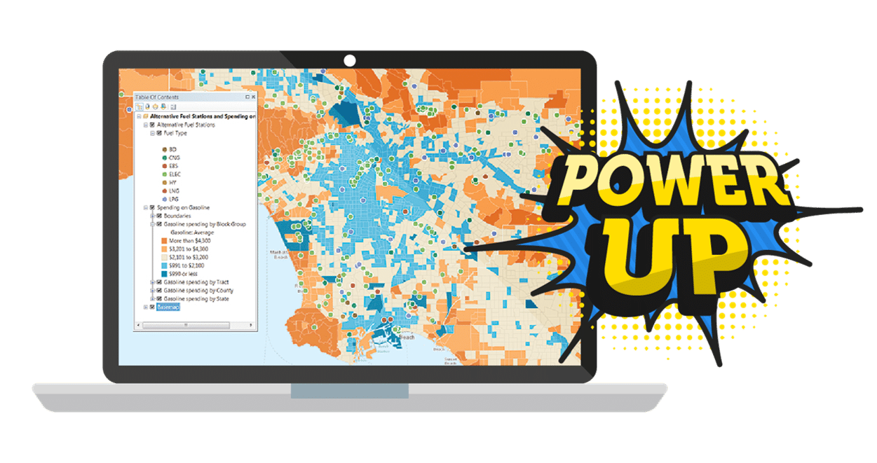 Power-up-arcgis-ecosystem